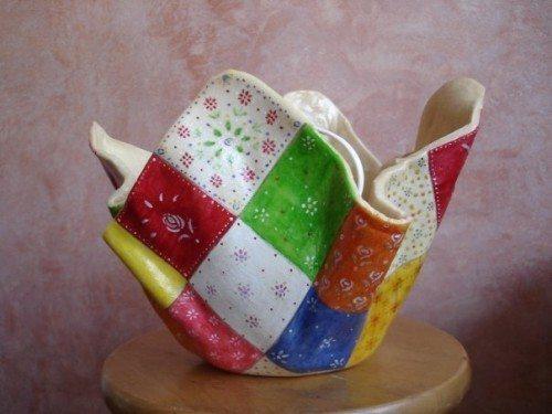 How to make salt dough lamp - Simple Craft Ideas