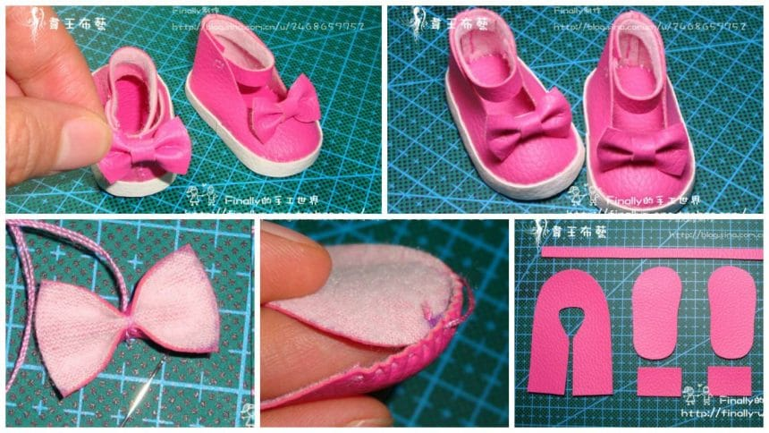 how to make simple shoes