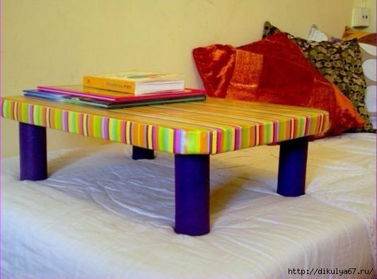 How to make cardboard table Simple Craft Ideas
