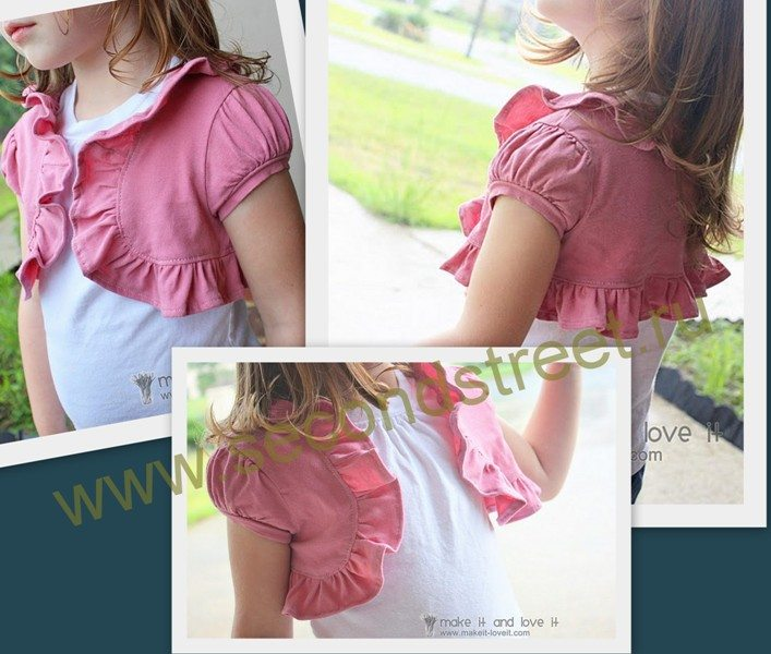 bolero shirts for kids