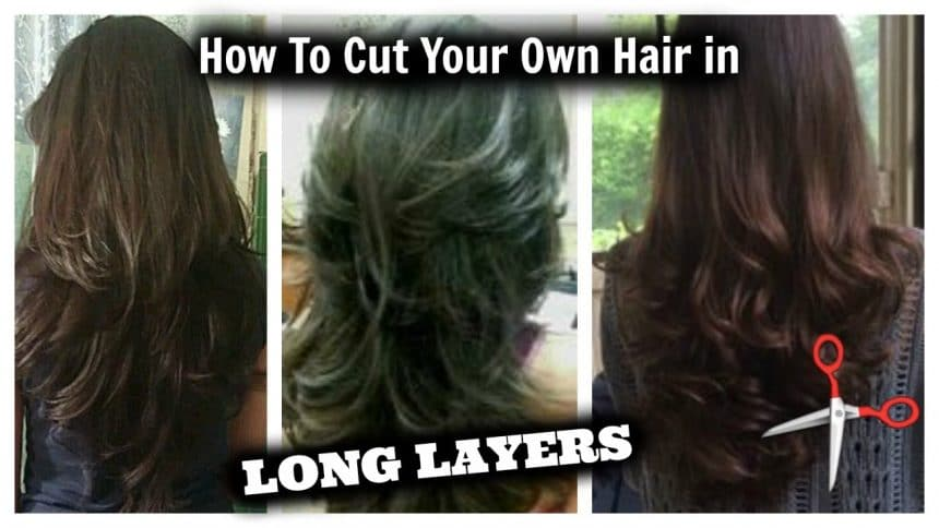 how to make layer cut hairstyle