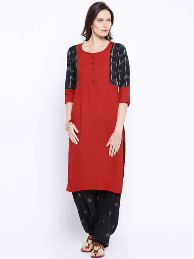 Different types of kurthi patterns – Simple Craft Ideas