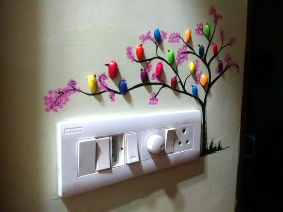 how to make pista shell bird for wall decoration   simple