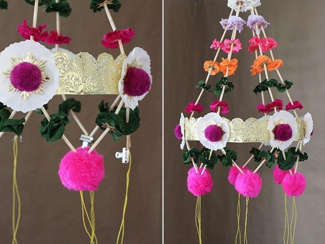 Polish chandelier