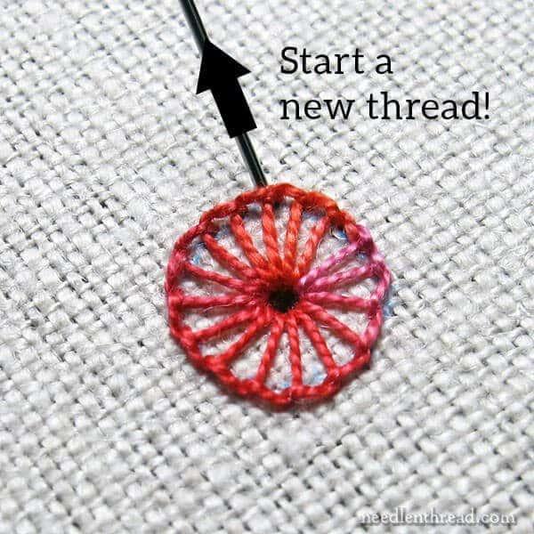lacy buttonhole wheel