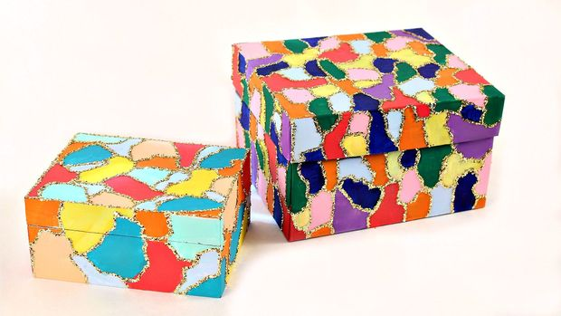 magical mosaic box