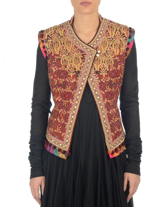 The Gallery For --u0026gt; Designer Kurtis With Jacket
