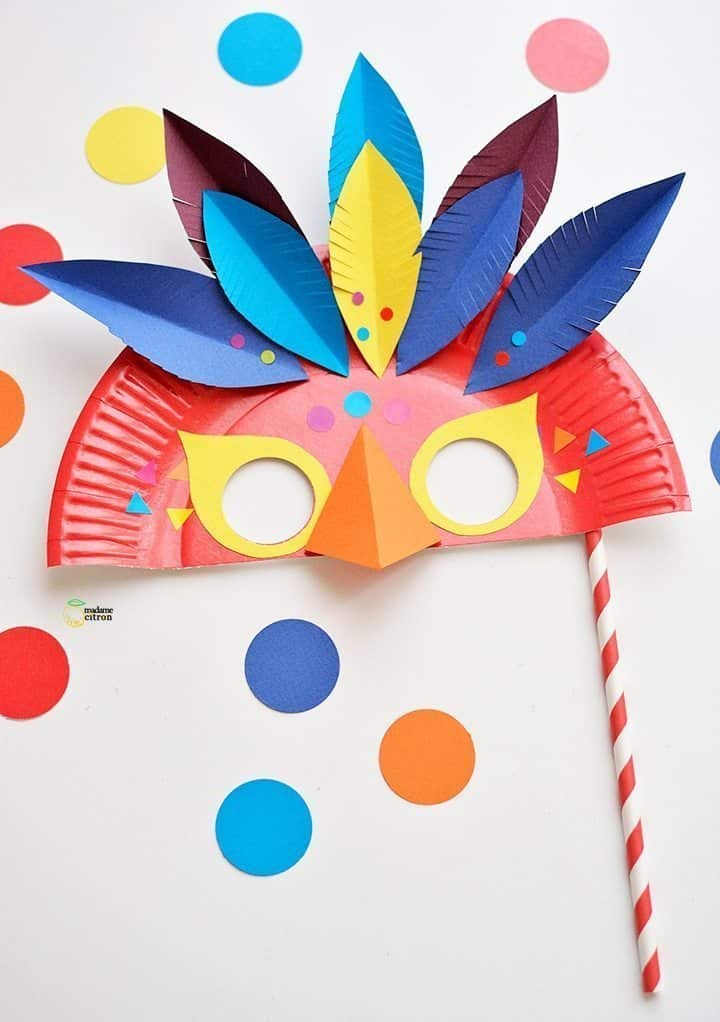 How To Make Carnival Mask Simple Craft Ideas
