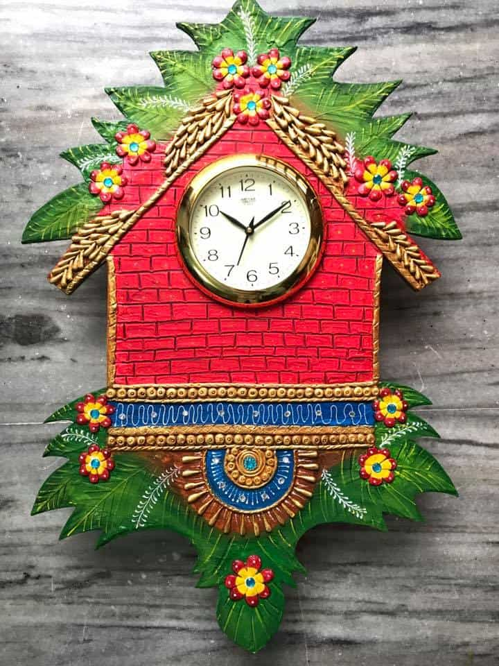 How To Make Amazing Wall Clock Simple Craft Ideas