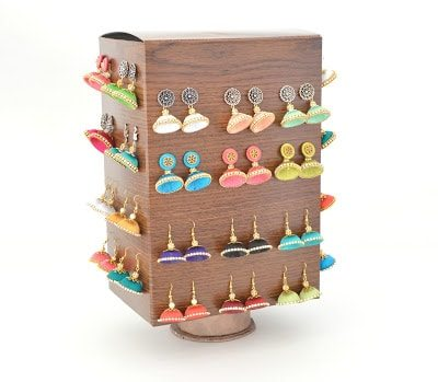 rotating jewellery storage