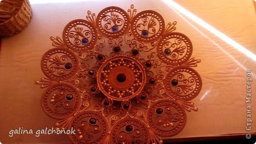 paper dish for wall art