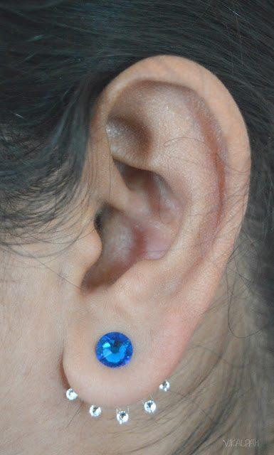 double sided earrings