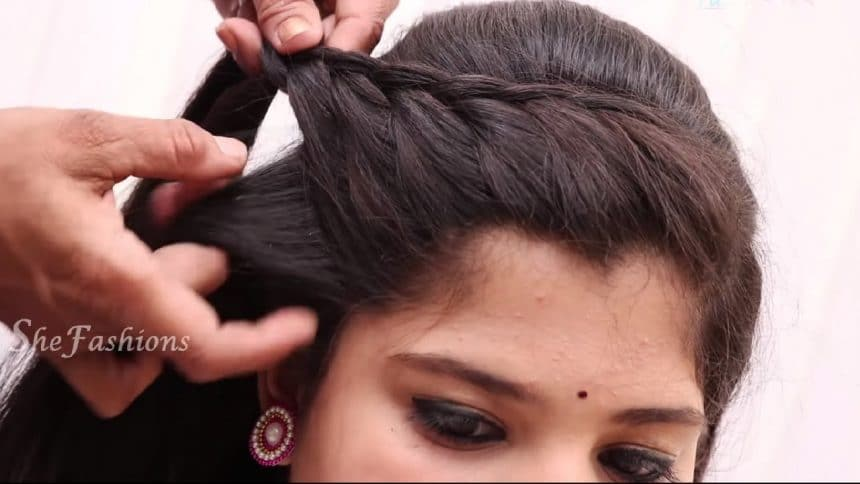 Hair Style Enchanting Easy Hair Style For Long Hair  Simple Craft Ideas