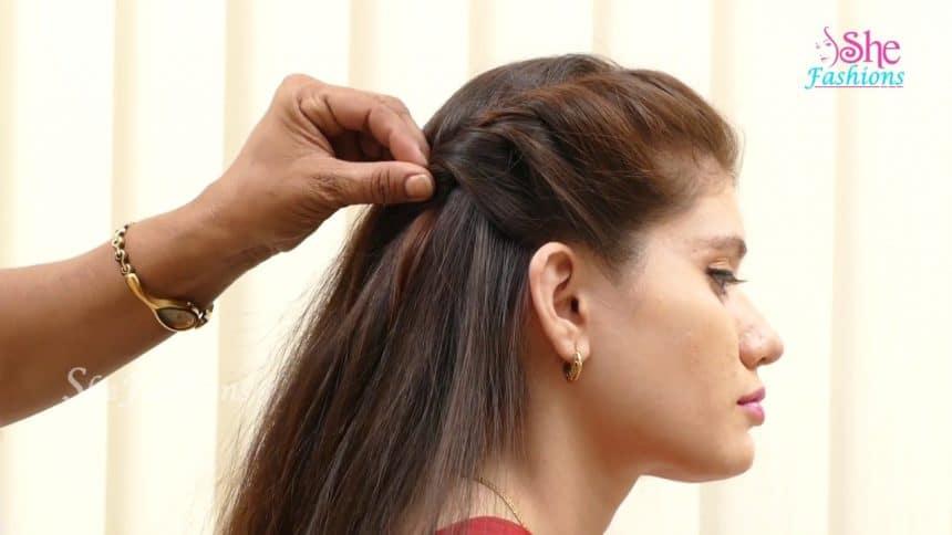 Hair style for long hair - Simple Craft Ideas