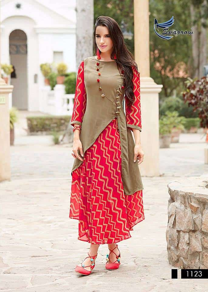 Designer kurti cutting and stitching full tutorial ...