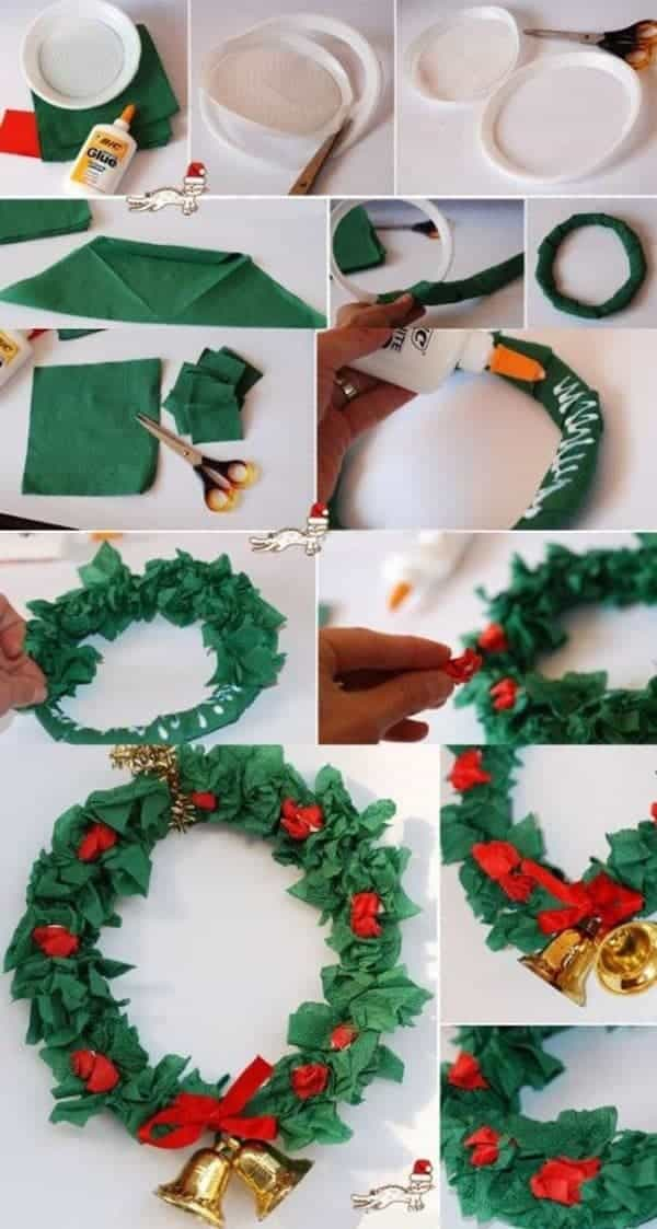Christmas Decorations with Recycled Material: 25 Ideas ...