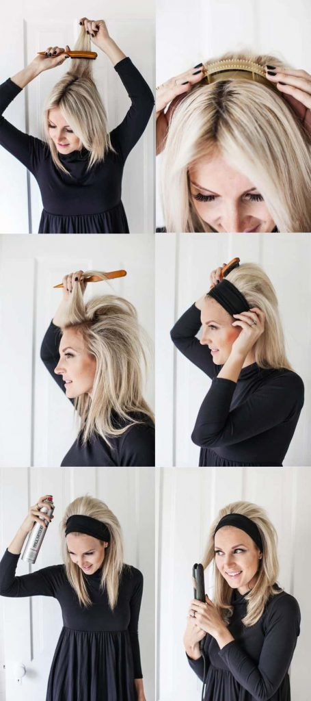 puff hair style