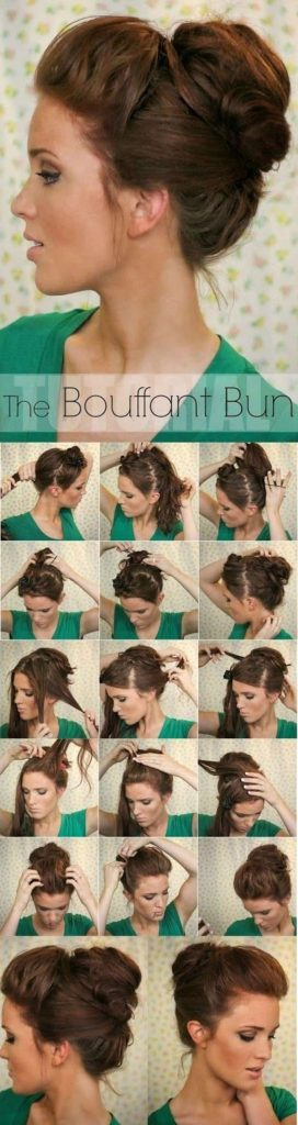 If You Have Long And Thick Hair Then This Tutorial Is For Hairstyle With Its Double Ponytail Sideways Swerving Puff Takes Up Back To
