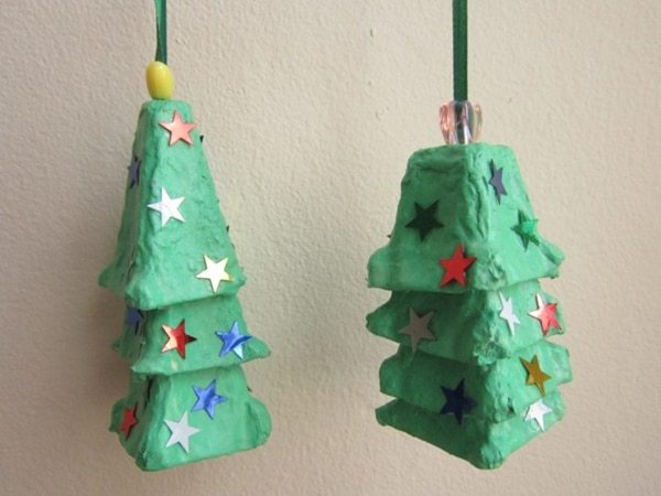 Christmas Decorations With Recycled Material 25 Ideas