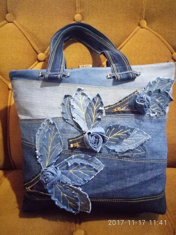 How To Make Bag From Old Jeans Artsycraftsydad