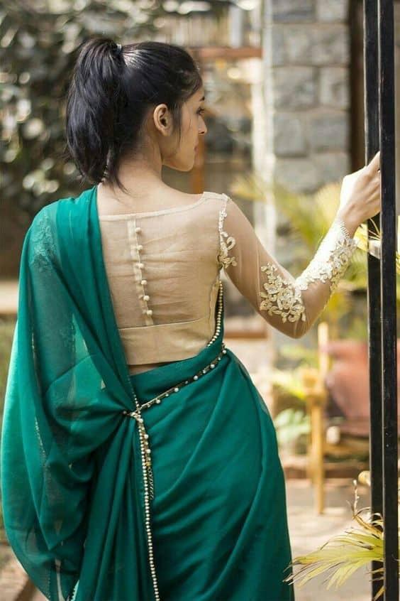 Such A Elegant And Graceful Blouse Designs Artsycraftsydad
