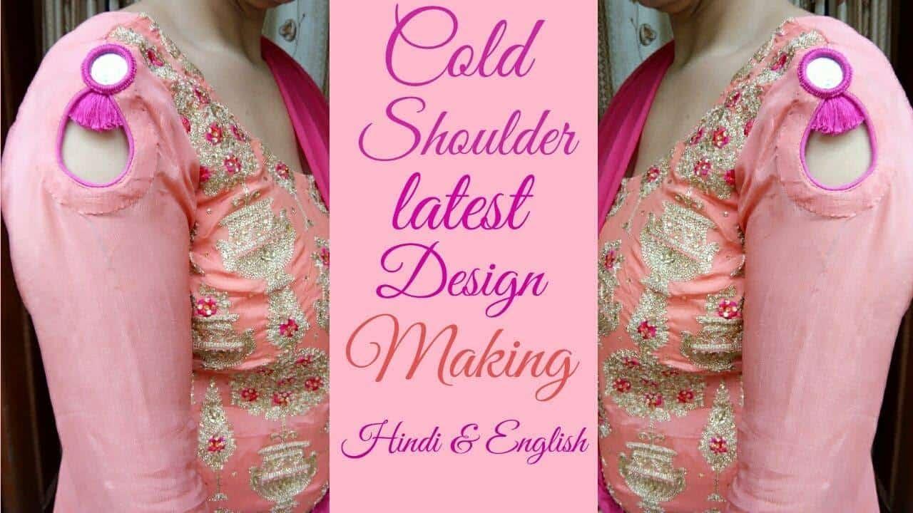 Latest Cold Shoulder Sleeves Design Making Artsycraftsydad