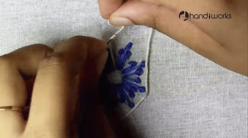Embroidery stitches for kurti