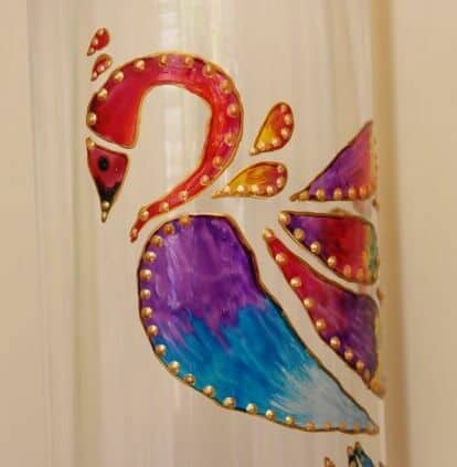 Glass Vase Painting Ideas Archives Artsycraftsydad