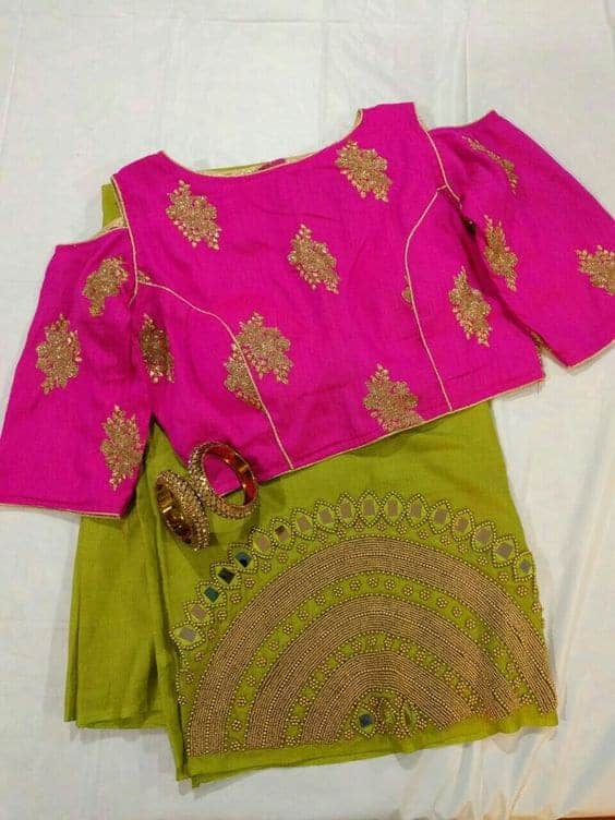 Best Saree Blouse Ideas Simple Craft Ideas