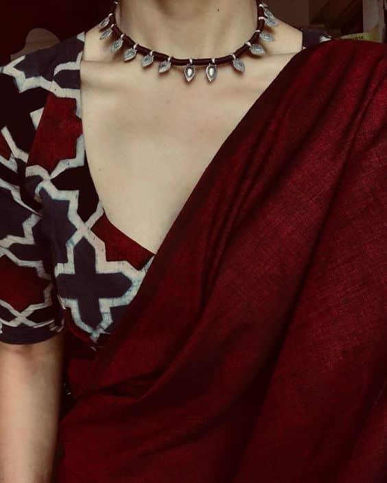 Trendy Saree Blouses Designs Simple Craft Ideas